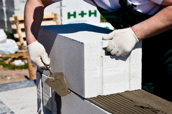 Газобетонный блок, сфера использования материала