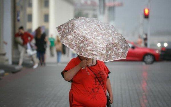 На понедельник в Беларуси объявлено штормовое предупреждение