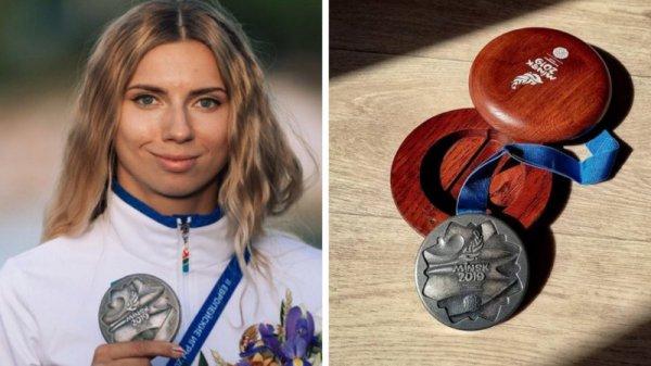 Серебряная медаль Тимановской за полдня подорожала в четыре раза