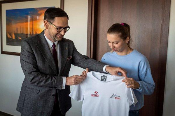 Белорусская бегунья Тимановская стала спортсменкой команды польского концерна Orlen