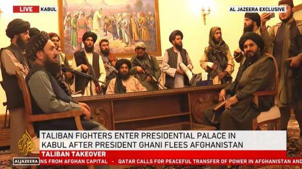 В  Кабуле талибы заняли дворец президента Афганистана