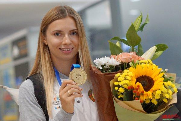 Тимановская приняла участие в первых соревнованиях в Польше
