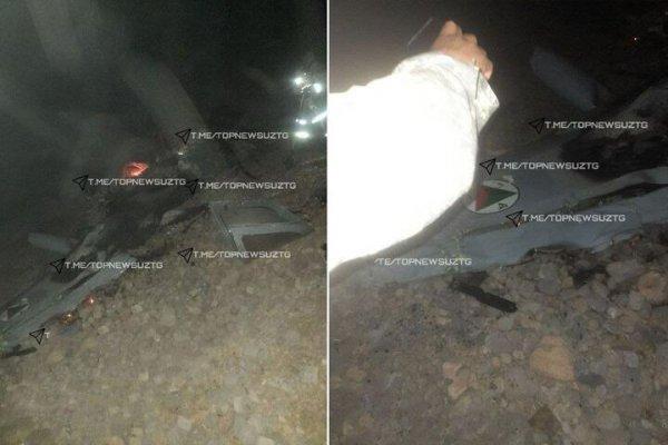 Афганский военный самолет разбился в Узбекистане