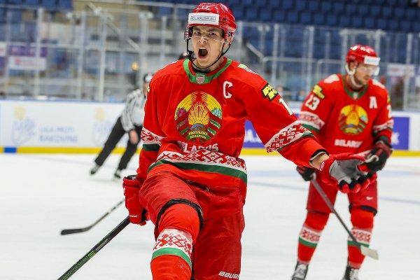Сборная Беларуси по хоккею победила Австрию, забросив пять шайб в одном периоде