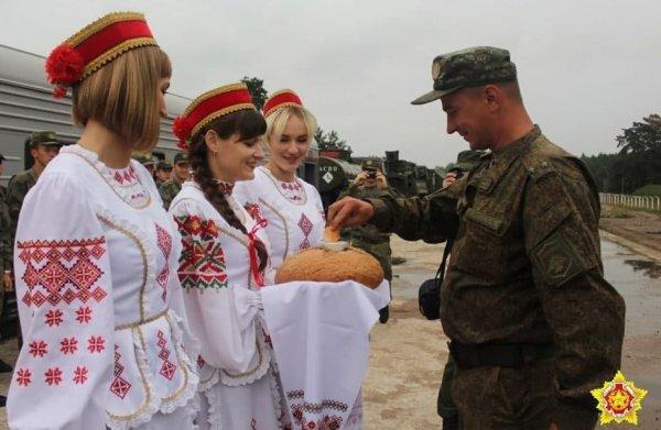 В Гродно прибыли подразделения зенитных ракетных войск России