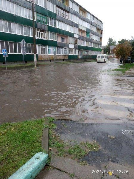 На последних сентябрьских выходных Рогачёв зальёт дождём