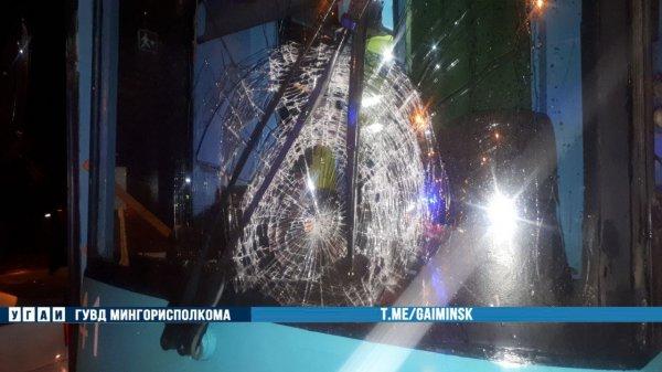 На улице Долгобродской в Минске пешеход попал под трамвай