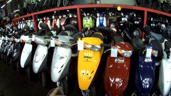Какой б/у скутер самый дешевый?